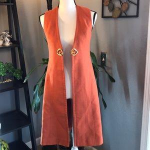 Vintage Boho Gypsy Style Long Vest Duster
